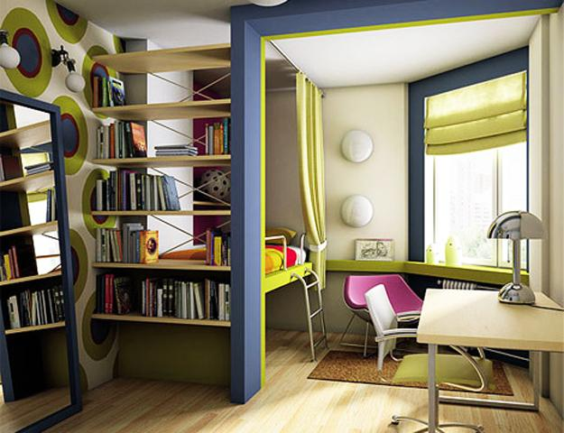 10 Study Area Ideas For Organized And Modern Kids Room Design