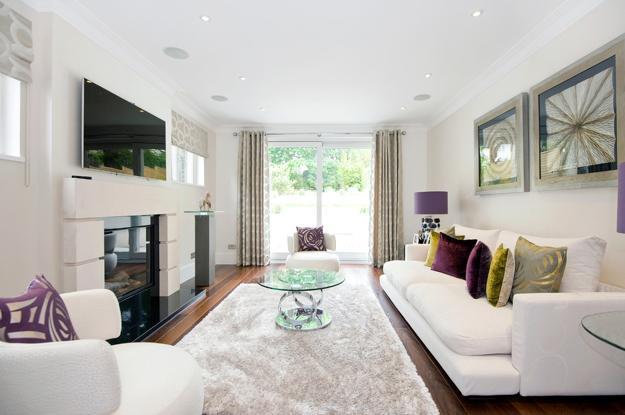 color design ideas to balance home interiors