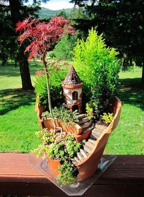22 Miniature Garden Design Ideas To Enjoy Natural Beauty