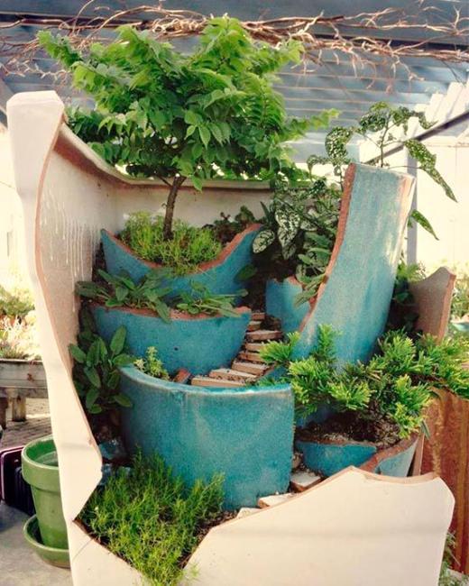 Home Gardening Design Ideas: 22 Miniature Garden Design Ideas To Enjoy Natural Beauty