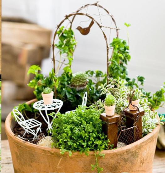 22 Miniature Garden Design Ideas To Enjoy Natural Beauty In City Homes And Small  Outdoor Rooms