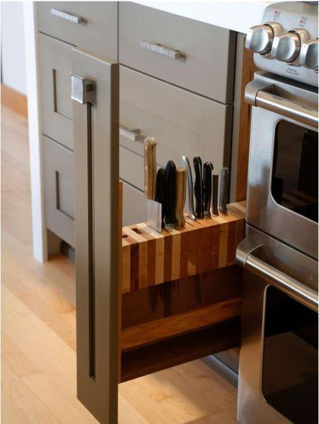 kitchen design and stotage organization