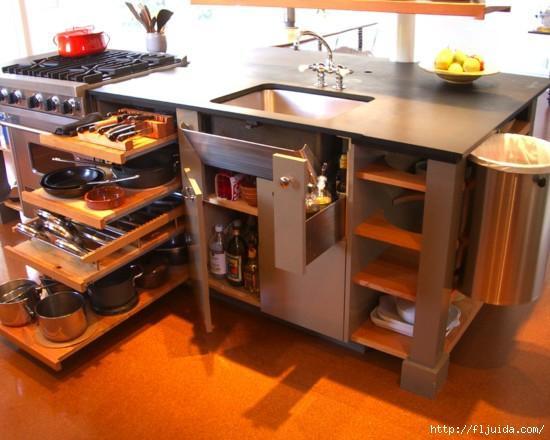 modern small space storage ideas | Modern Kitchen Storage Ideas Improving Kitchen ...