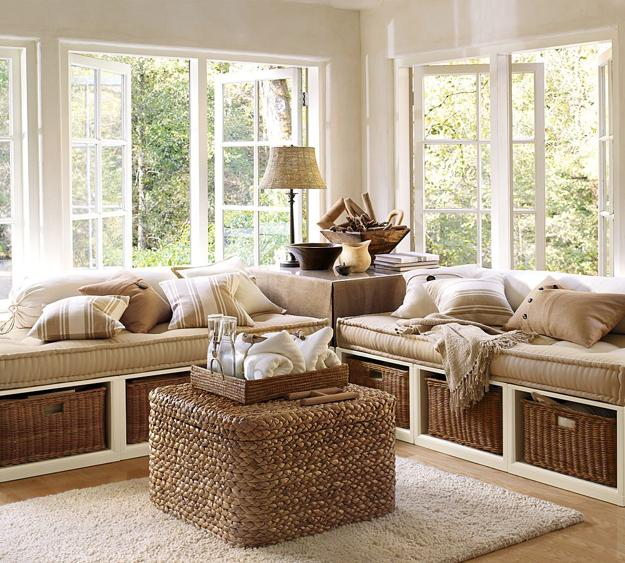 Wicker Furniture And Decor Accessories For Modern Interior Design Decorating