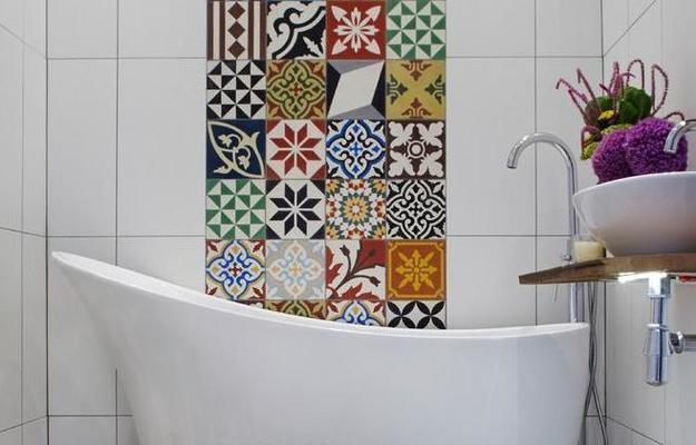 Modern Tiles For Small Bathroom Design