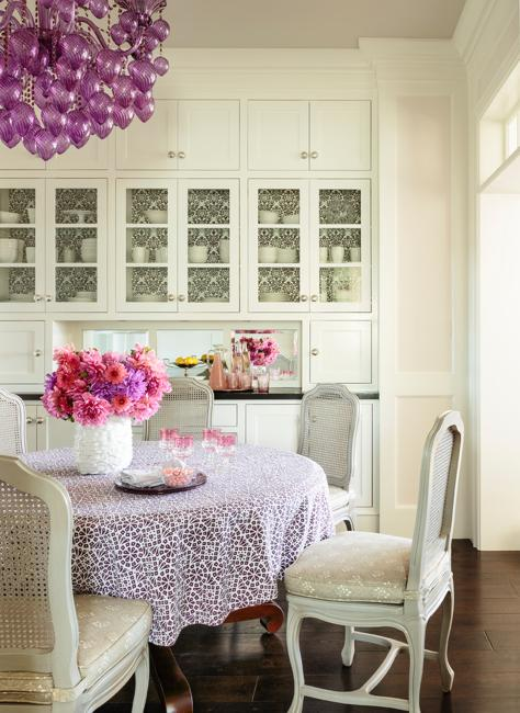 dramatic purple dining room designs in pastels | Authentic Murano Glass Designs, Gorgeous Latest Trends in ...