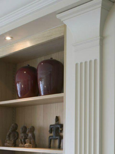 Modern Interior Design With Pilasters