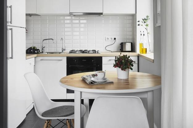 White And Gray Color Tones For Decorating Small Es In Scandinavian Style