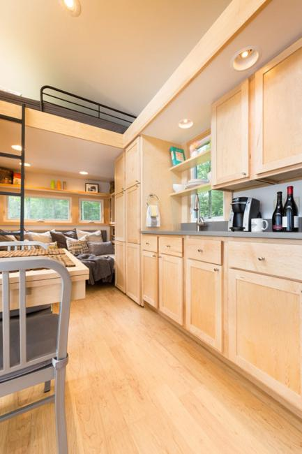 wooden kitchen cabinets