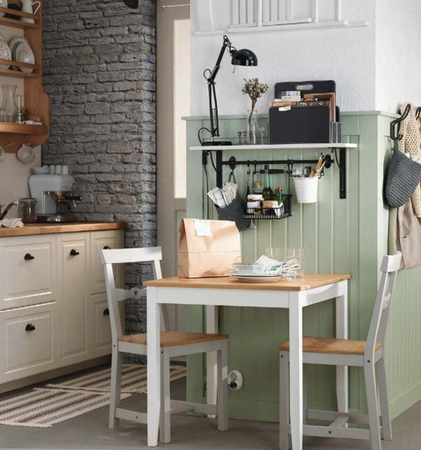 Kitchen Beautiful And Space Saving Kitchen Pantry Ideas: Ways To Open Small Kitchens, Space Saving Ideas From IKEA