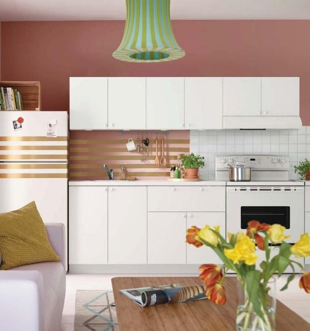 Girly Kitchen Decor: Ways To Open Small Kitchens, Space Saving Ideas From IKEA
