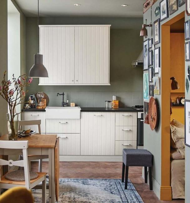 Kitchen Cabinets Small Space: Ways To Open Small Kitchens, Space Saving Ideas From IKEA