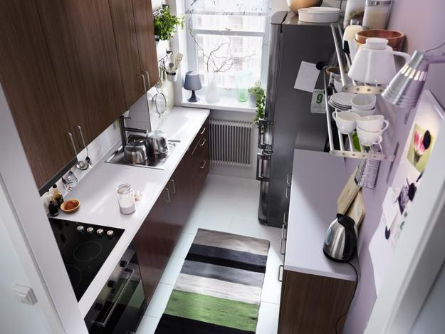 Genial Small Kitchen Design And Open Space Saving Kitchen Storage Ideas