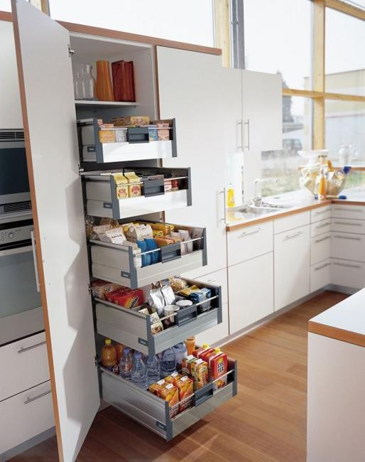 Ways to Open Small Kitchens, Space Saving Ideas from IKEA