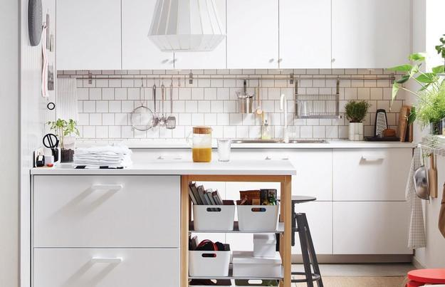 Ways To Open Small Kitchens Space Saving Ideas From Ikea - Open-kitchen-design-for-small-kitchens