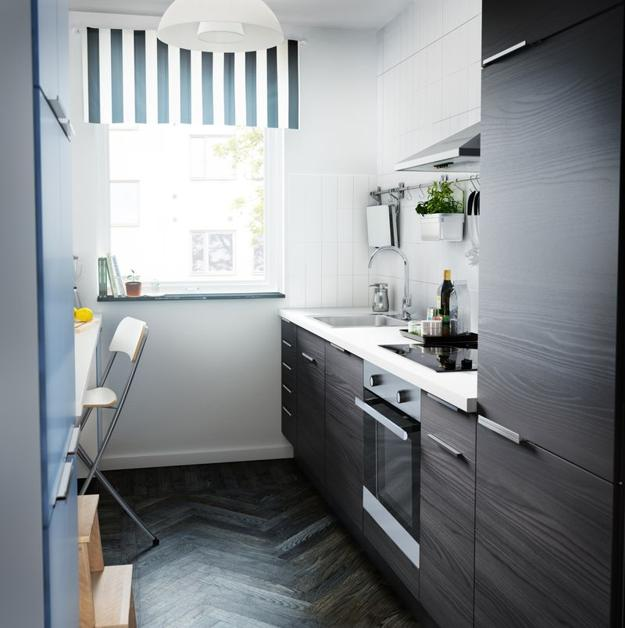 Small Space Kitchen Plans Gallery: Ways To Open Small Kitchens, Space Saving Ideas From IKEA