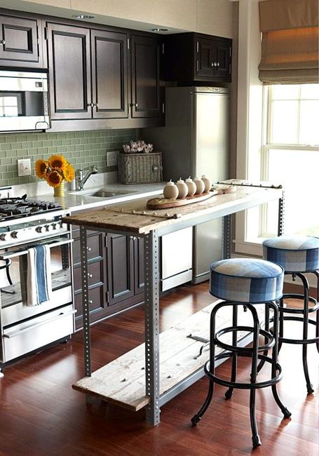 21 Space Saving Kitchen Island Alternatives for Small Kitchens