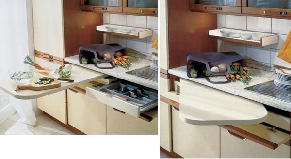 Turning Window Sill Into Small Dining Area, Space Saving Ideas For Small  Kitchens