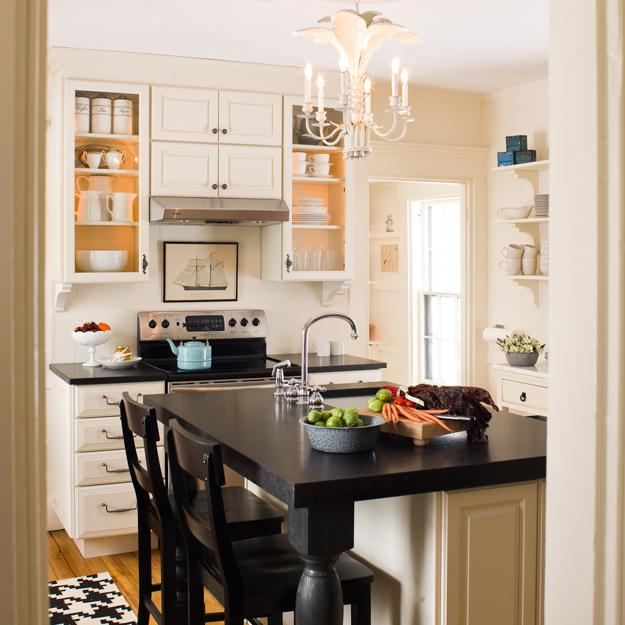 Big Design Ideas For Small Kitchen Remodels: 21 Space Saving Kitchen Island Alternatives For Small Kitchens