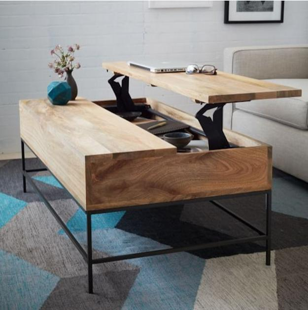 15 Space Saving Ideas For Modern Living Rooms 10 Tricks To Maximize Small Spaces