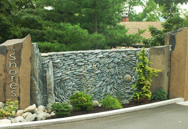 Spectacular Stone Walls Blending Ancient Art Into Creative Wall Design