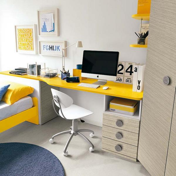 25 Student Desk Designs And Studying Area Ideas Pairing