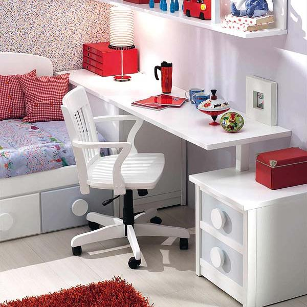 25 Kids Study Room Designs Decorating Ideas: 25 Student Desk Designs And Studying Area Ideas Pairing