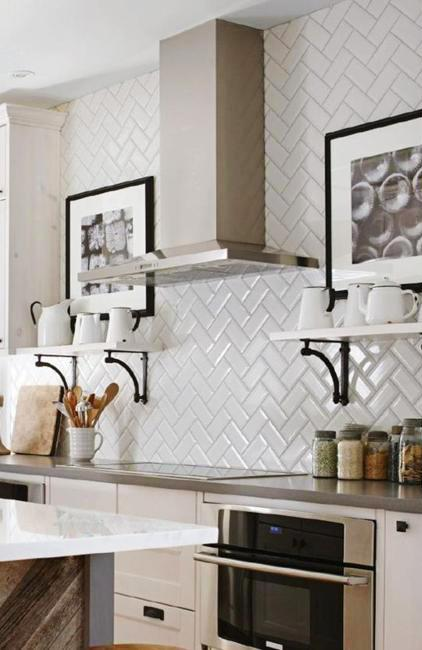 decoration patterns and modern tile designs in white