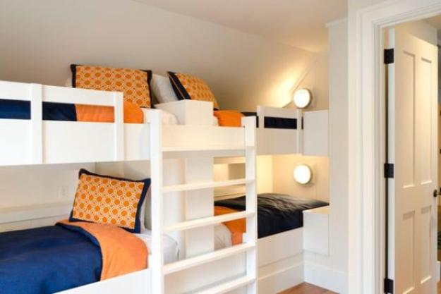 Four Bunk Beds For Kids Room Design Maximizing Space And