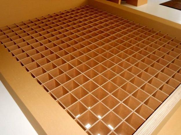 Cardboard Beds Offering Simple And Light Furniture Design