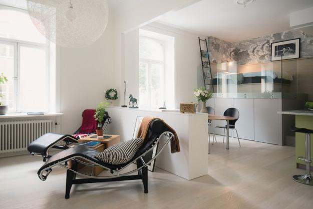 modern apartment ideas for small spaces
