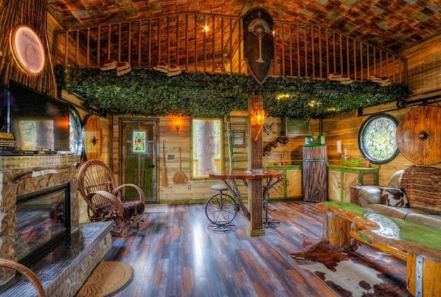 Hobbit Tree House Design Bringing Fantasy Into Life