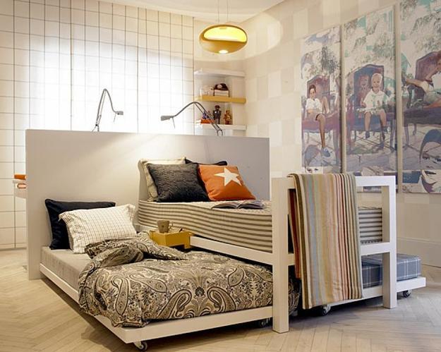 7 Inspiring Kid Room Color Options For Your Little Ones: 30 Three Children Bedroom Design Ideas