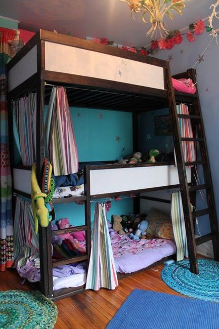 Study Room Furniture: 30 And Three Children Bedroom Design Ideas