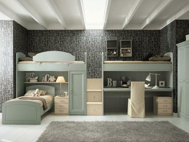 30 Three Children Bedroom Design Ideas