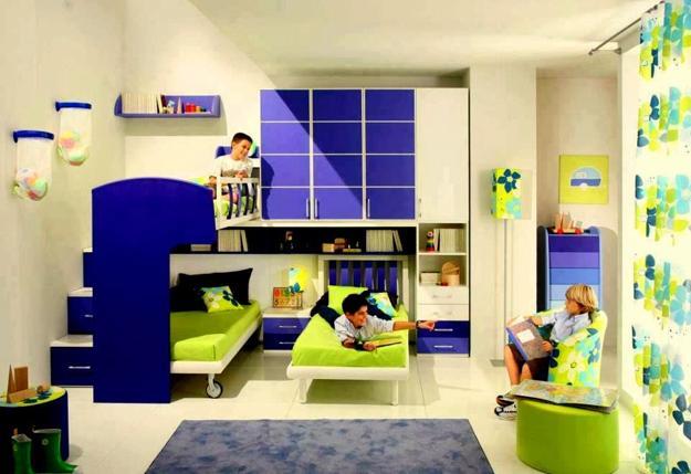 30 three children bedroom design ideas - Bedroom designs for kids children ...