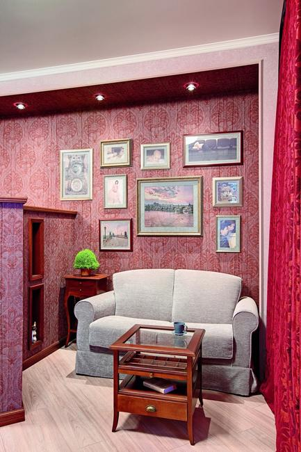 Modern Wallpaper Designs For Living Room: Modern Wallpaper Patterns And Room Colors For Interior