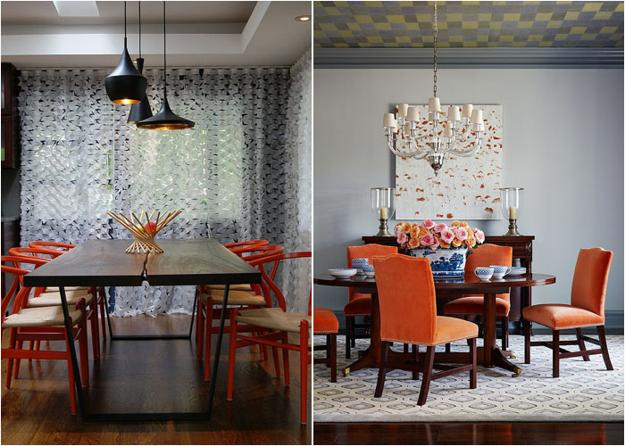 How To Use Orange Colors Creatively And Add Interest To