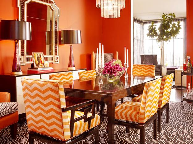 How to Use Orange Colors Creatively and Add Interest to ...