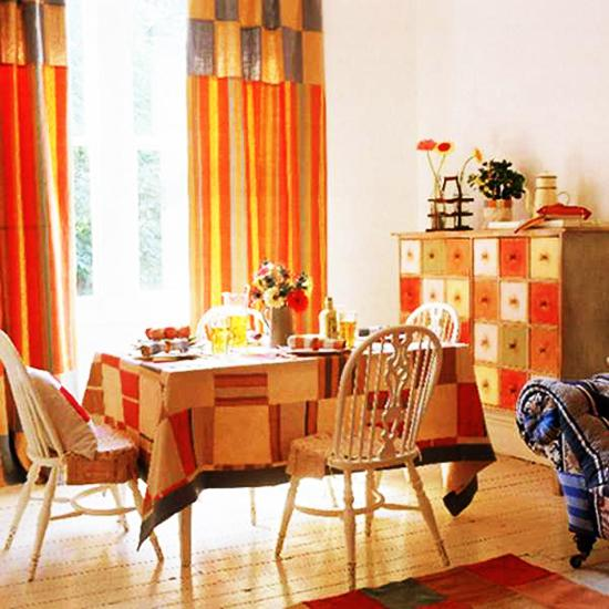 Bright Orange Living Room Accessories: How To Use Orange Colors Creatively And Add Interest To