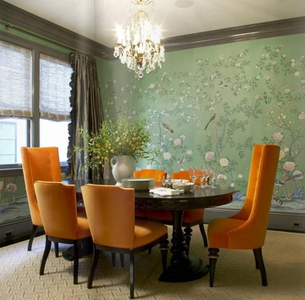 Orange Color Combinations For Modern Interior Design And Decor