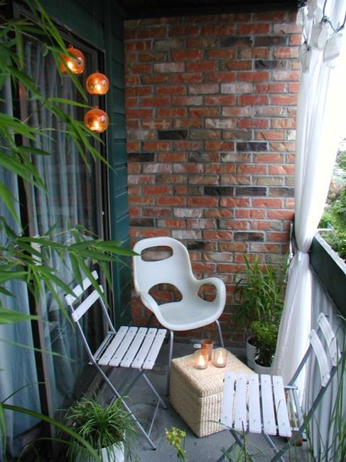 Beautiful Materials For Small Balcony Designs Adding Style