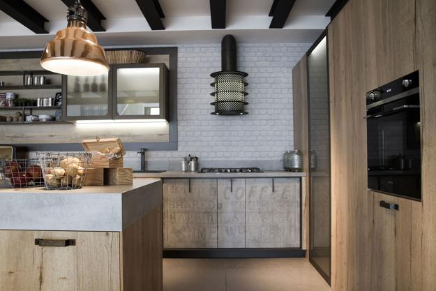Beautiful Modern Ideas For Kitchen Design In Industrial Style