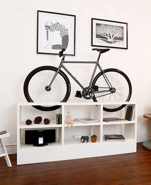 modern interior design and space saving storage ideas for bicycle rh lushome com bicycle showroom interior design