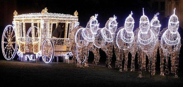 Christmas Lights Around The World Setting Festive Mood For
