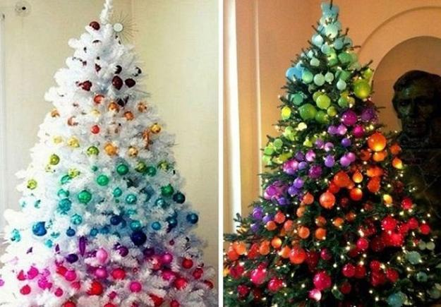 christmas tree decorating ideas to design spectacular holiday decor - Unique Christmas Tree Decorations