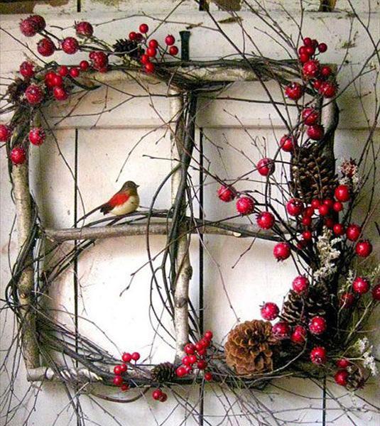 33 creative diy christmas wreaths adding festive mood to holiday decor rh lushome com
