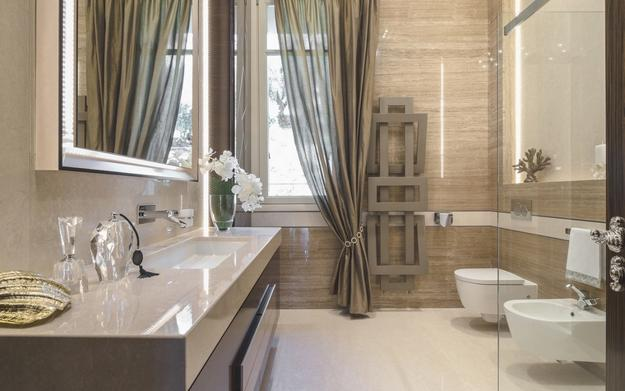bathroom wall decorating ideas and contemporary materials