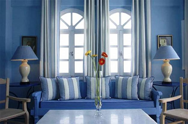 Light Blue Paint Color Living Room Design And Decorating Ideas In