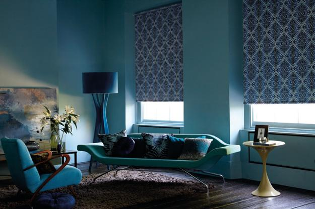 blue room design and decorating ideas
